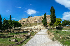 Greece, Athens, Acropolis Stock Images