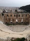 Greece Athens acropolis. Travel education history tester Royalty Free Stock Image