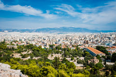 Greece, Athens, August 2016, The Acropolis of Athens, ancient citadel located on an extremely rocky outcrop above the city of Athe. Greece, Athens, August , The Stock Images