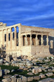 Greece, Athens -  Erechtheum  Royalty Free Stock Images