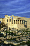 Greece, Athens -  Erechtheum detail, the Acropolis Stock Photography