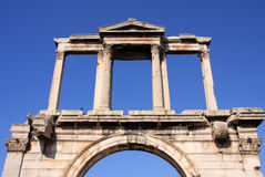 Greece Athens, Hadrian's Arch Stock Images