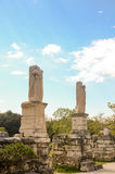GREECE, ATHENS - MARCH 29, 2017: Ancient Agora of Athens Stock Photography