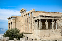 GREECE, ATHENS - MARCH 29, 2017: Erechtheion stock images