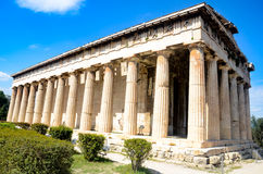 GREECE, ATHENS - MARCH 29, 2017: The Temple of Hephaestus Stock Image