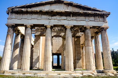GREECE, ATHENS - MARCH 29, 2017: The Temple of Hephaestus Stock Photography