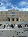 Greece, Athens, Syntagma Square. stock photo
