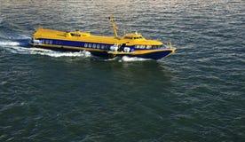 greece bärplansbåt Royaltyfria Foton