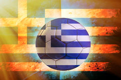 Greece ball Royalty Free Stock Image
