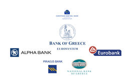 Greece banks Stock Images