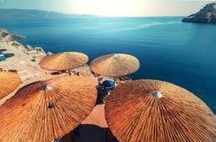 Greece beach Stock Photos