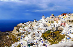 Greece beautiful Santorini Island Stock Images