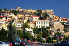 Greece. A beautiful summer picture  in town Kavala, Greece Royalty Free Stock Images