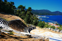 Greece. A beautiful summer picture  in town Thassos, Greece Stock Photos