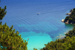 Greece. A beautiful summerpicture  in island Thassos, Greece Royalty Free Stock Images