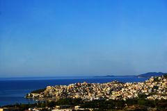Greece. A beautiful summerpicture  in town Kavala, Greece Stock Photo