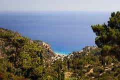 Greece bonito, ilha maravilhosa e mar Fotos de Stock Royalty Free