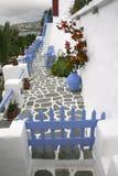 Greece, cafe Stock Photos