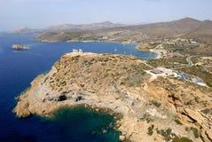 Greece Cape Sounion Temple of Poseidon Stock Photos