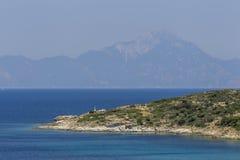 Greece Chalkidiki Sithonia Aegean Sea Stock Photos