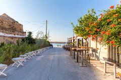Greece, Chania, Crete.Traditional street Royalty Free Stock Image