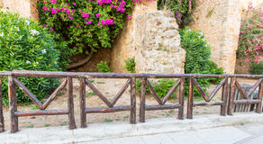 Greece, Chania, Crete.Traditional street Royalty Free Stock Photos