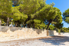 Greece, Chania, Crete.Traditional  street Royalty Free Stock Photography