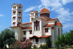 Greece church royalty free stock photo