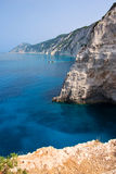 Greece coast Royalty Free Stock Photos