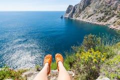 Greece coast Stock Image