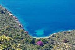 Greece coast Stock Photo