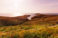 Greece coast Royalty Free Stock Photos