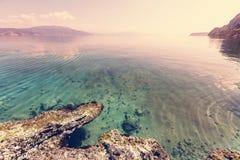 Greece coast Royalty Free Stock Photography
