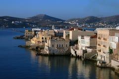 Greece, console de Syros Foto de Stock