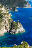 Greece, Corfu island, Paleokastritsa Royalty Free Stock Image