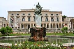 Greece. Corfu-town. Royalty Free Stock Photo