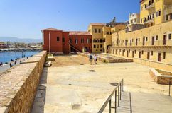 Greece - Crete - Chania. The Maritime Museum of Ch Royalty Free Stock Photography