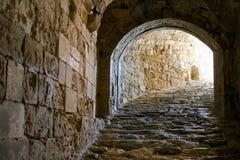 Greece. Crete, Iraklio, the Venetian fortress called Rocca al Mare Royalty Free Stock Images
