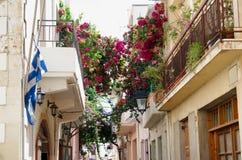 GREECE, CRETE, RETIMNO. Old city part of Retimno, Crete, Greece Royalty Free Stock Photos