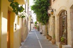GREECE, CRETE, RETIMNO. Old city part of Retimno, Crete, Greece Stock Images