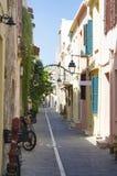 GREECE, CRETE, RETIMNO. Old city part of Retimno, Crete, Greece Stock Photo