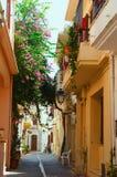 GREECE, CRETE, RETIMNO. Old city part of Retimno, Crete, Greece Royalty Free Stock Image