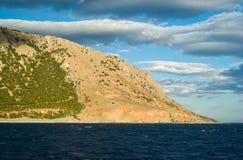 Greece, Crete, White Mountains Stock Photos