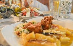 Greece cuisine Stock Images
