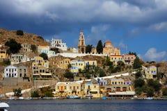 Greece. Dodecanesse. Island Symi (Simi). Royalty Free Stock Image