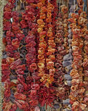 Greece, dried vegetables at the central market Royalty Free Stock Photos