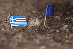 Greece and the EC Royalty Free Stock Photos