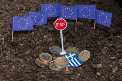 Greece and the EC Royalty Free Stock Photo