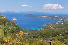 Greece,  Epirus, panoramic view Royalty Free Stock Photo