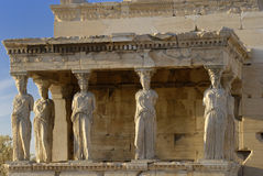 Greece, erechtheion, acropolis Stock Photography